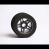 "Matrix 10 Set Front/Rear 1/8 On/Road Tires on Rims ""FIVE""Carbon"