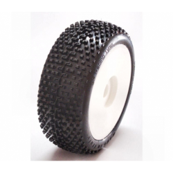 SP Racing Demolition Sport 1/8 Off/Road Tires Mounted on Rims