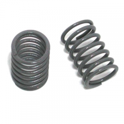 PA0049G BMT 984 Grey Medium Shock Spring Rear (2pcs)