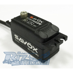 Savox SC-1251MG Low Profile Coreless Digital Servo (Black Ed.)