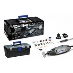 Dremel 3000 Silver Kit MultiTool 220V with 55 accessories and 3