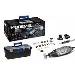 Dremel 3000 Silver Kit MultiUtensile 220V con 55 accessori e 3 c