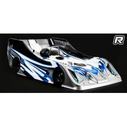 Xtreme Aereodynamics 1/8 On/Road Racing Body R18 Original Light Pre-Cut BMT984