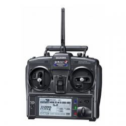 Sanwa EXZES ZZ FHHS-4T 2.4GHz Radio System w/RX472 4-Channel Rec