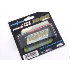 VOLTZ 6v 1600mah NiMH Flat Receiver Pack