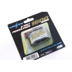 VOLTZ 6v 1600mah NiMH Hump Receiver Pack