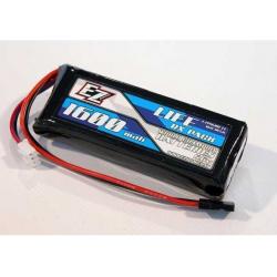 EZ Power Pacco Batteria Li-Fe RX 6,6V 1600mAh 25C (Piatto)