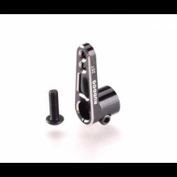Ruddog Aluminium Servo Horn 25T BLACK (Futaba/Savox)