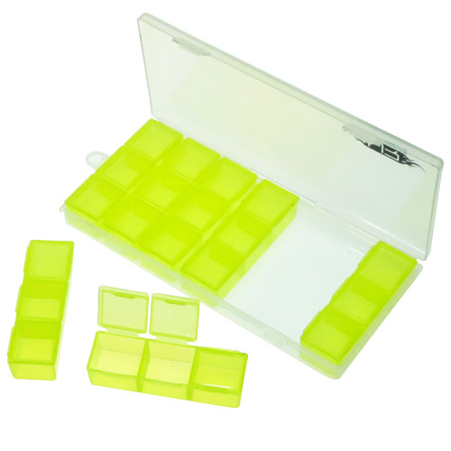 Yeah Racing Multi Funtion Storage Box for RC Accessories L179x W80 x H20mm