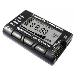 EV-PEAK Digital Battery Capacity Checker for LiPo - LiFe - LiION - MiMh
