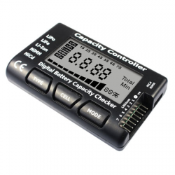 EV-PEAK Tester digitale per batterie LiPo - LiFe - LiION - MiMh