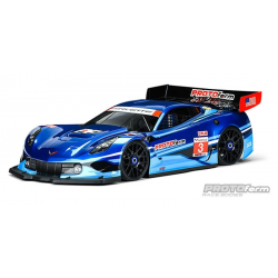 Protoform Chevrolet Corvette C7.R 1/8 GT Body With Decals
