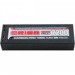 Team Orion Carbon PRO LiPo Racing Pack 7200mAh 100C Battery with Hard Case