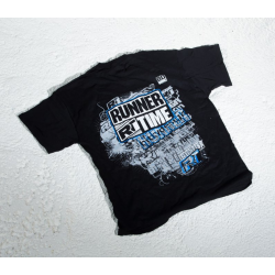 Runner Time T-Shirt with logo (L Size)