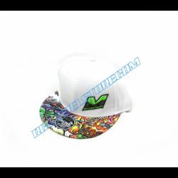 Mugen Cappello Hip-Hop (Bianco)