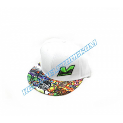Mugen Hip-Hop Cap (White)