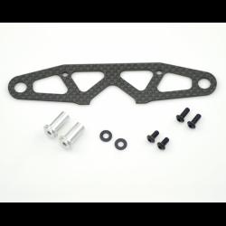 SPT804295 Serpent 748 Piastra bumper in carbonio