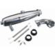 O.S. Engine T-2080SC 1/8 On/Road Inline Tuned Pipe Set