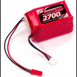 Robitronic LiPo RX 7,4V 2700mAh 20C RX Hump Receiver Pack
