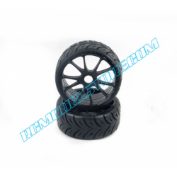 SP Racing New 2018 Competition Rally GT 1/8 Tires (R2 Super Soft)