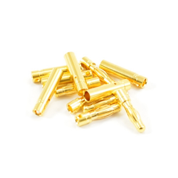 Etronix 4mm Gold Connector (6 Pairs Male/Female)