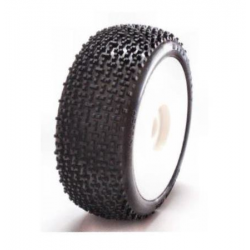 SP Racing Killer XSS Super Soft 1/8 Off/Road Tires Mounted on Rims