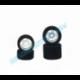 Enneti 10 Set Front/Rear 1/8 On/Road Tires on Light Rims 32/35 Shore