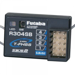 Futaba Ricevente R304SB 2.4Ghz Telemetry T-FHSS