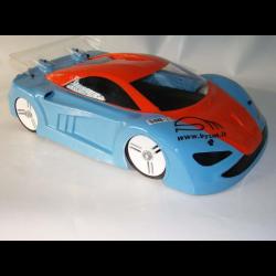BYSM SM 2 Carrozzeria McLaren (1/8 Rally) (Lexan 1,5mm)