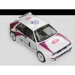 Delta Plastik Lancia Delta Integrale 1/8 Rally Game Body