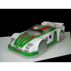 Delta Plastik Lacia Stratos 1/8 Rally Game Body