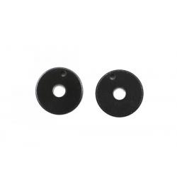 H0558 Mugen Pistoni ammortizzatore nero 1,2