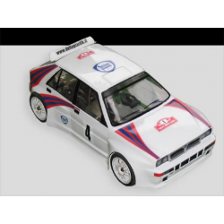 Delta Plastik Lancia Delta Integrale 1/10 Touring 200mm Body