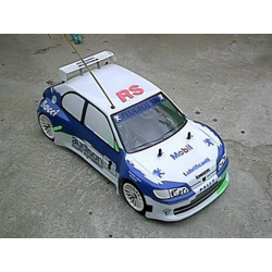 Delta Plastik Peugeot 306 Maxi 1/10 Touring 200mm Body