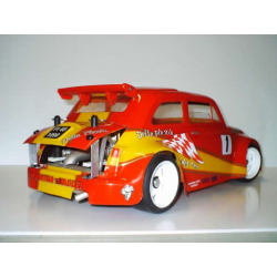 Delta Plastik Fiat 500 1/10 Touring 200mm Body