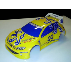 Delta Plastik Peugeot 206 WRC 1/10 Touring 200mm Body