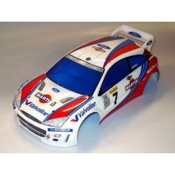 Delta Plastik Ford Focus 1/10 Touring 200mm Body