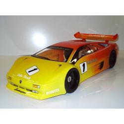 Delta Plastik Lamborghini Diablo 1/10 Touring 200mm Body