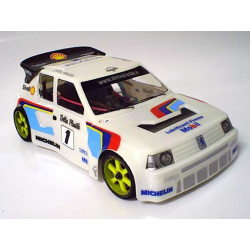 Delta Plastik Peugeot 205 Turbo 1/10 Touring 200mm Body