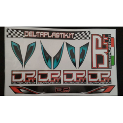 Delta Plastik Decals for Rally Game / GT Body (1/8) D.C.