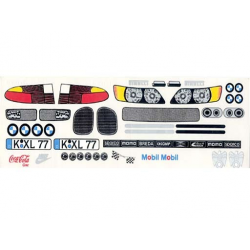 Delta Plastik Decals for BMW Z3 Body (1/10)