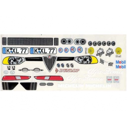 Delta Plastik Decals for Alfa Romeo 156 Body (1/10)