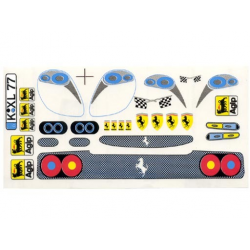 Delta Plastik Decals for Ferrari F50 Body (1/10)