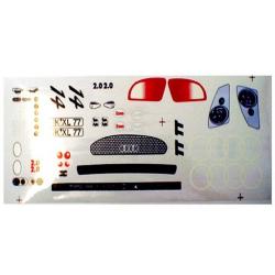 Delta Plastik adesivi per carrozzeria Audi TT (1/10)