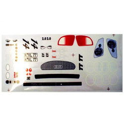 Delta Plastik Decals for Audi TT Body (1/10)