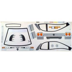 Delta Plastik Adesivi per carrozzeria Lamborghini Diablo (1/10)