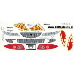 Delta Plastik Decals for Mazda 6 Body (1/10)
