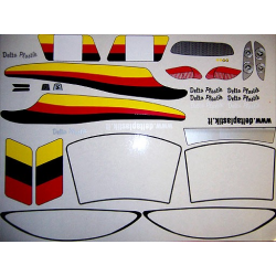 Delta Plastik Decals for Peugeot 406 Coup Body (1/10)