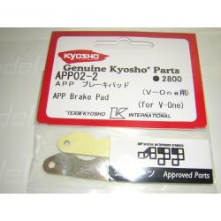 APP02-02 Kyosho Pasticche freni speciali APP