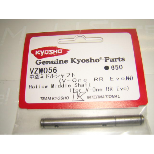 VZW056Kyosho Hollow Middle Shaft